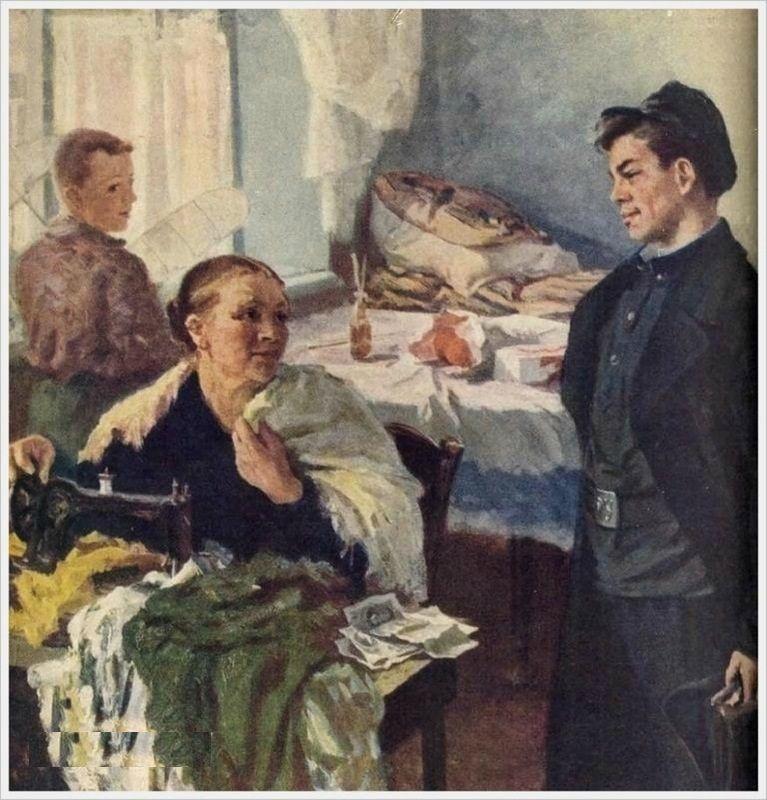 Михаил Суздальцев. Первая зарплата