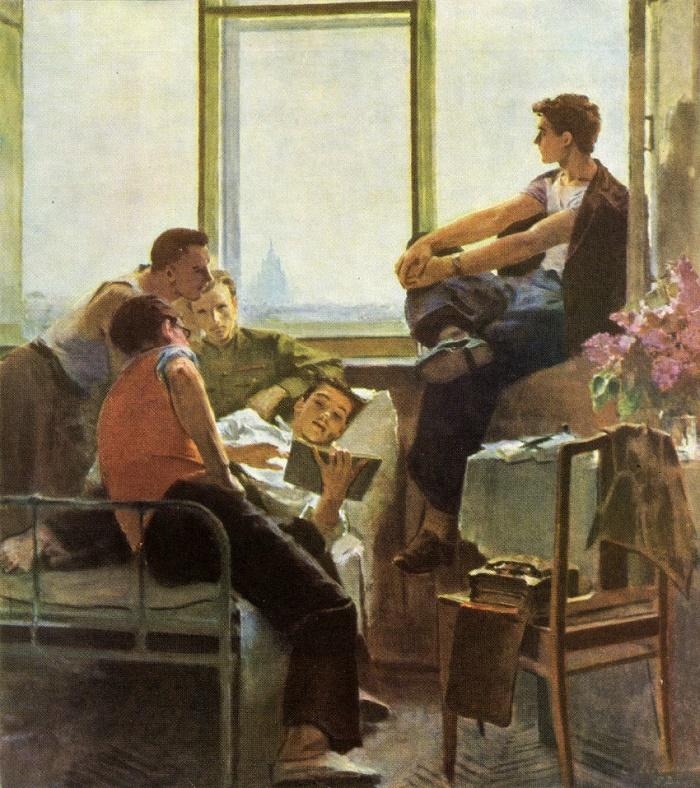 Сергей Шильников - Студенты, 1958