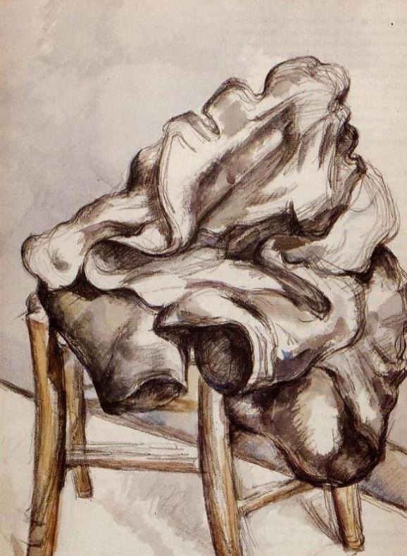 Поль Сезанн - Куртка на стуле