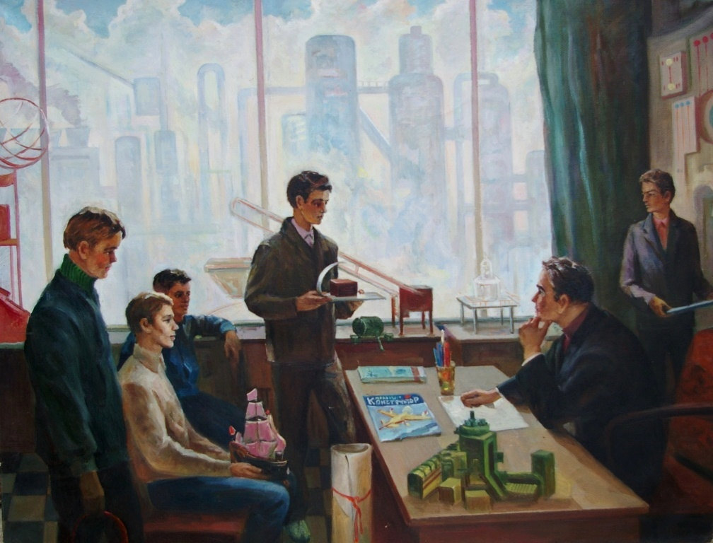 Валентин Смирнов - Производственное обучение, 1970-е гг.