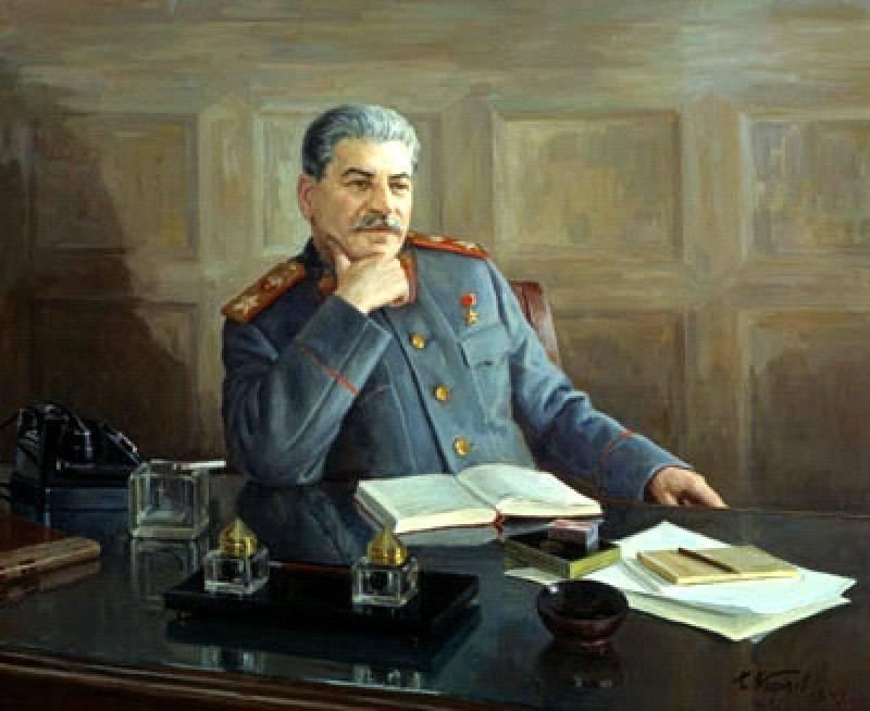 Борис Карпов - Портрет И.С. Сталина