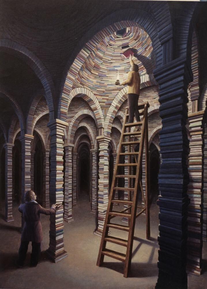 Роб Гонсалвес - Библиотека, 1995