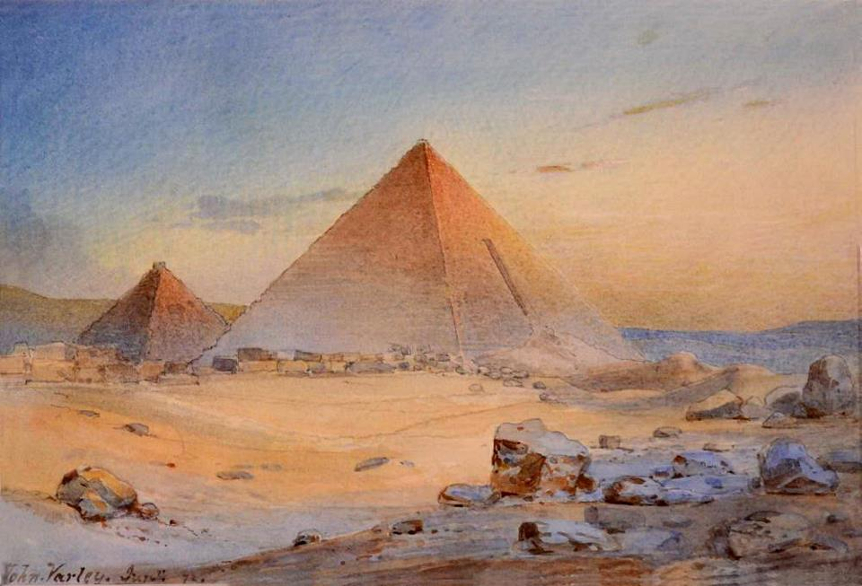 Джон Валери II - Пирамиды, 1882