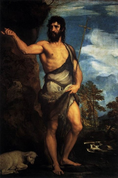 Тициан Вечеллио - Святой Иоанн Креститель, 1530-1532