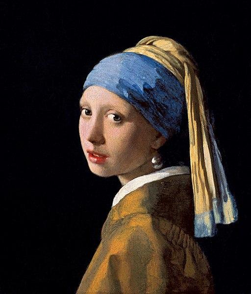 Ян Вермеер - Девушка с жемчужной серёжкой, ок. 1665