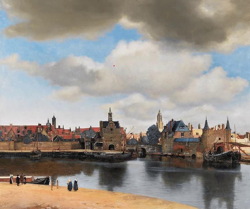 Ян Вермеер - Вид Делфта, 1660-1661