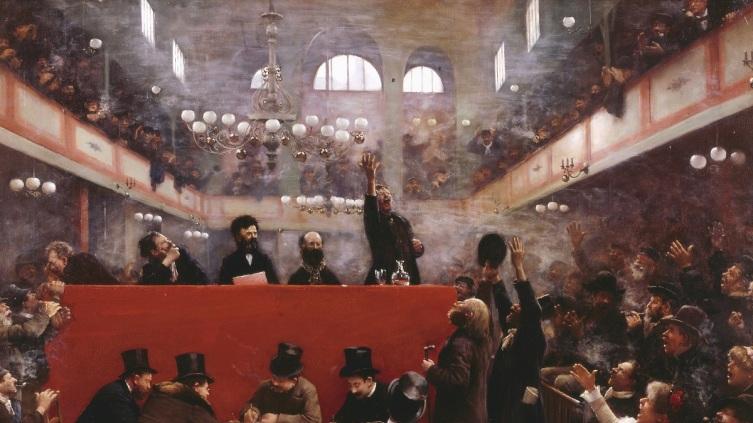 Жан Беро, Зал Граффард, 1884,