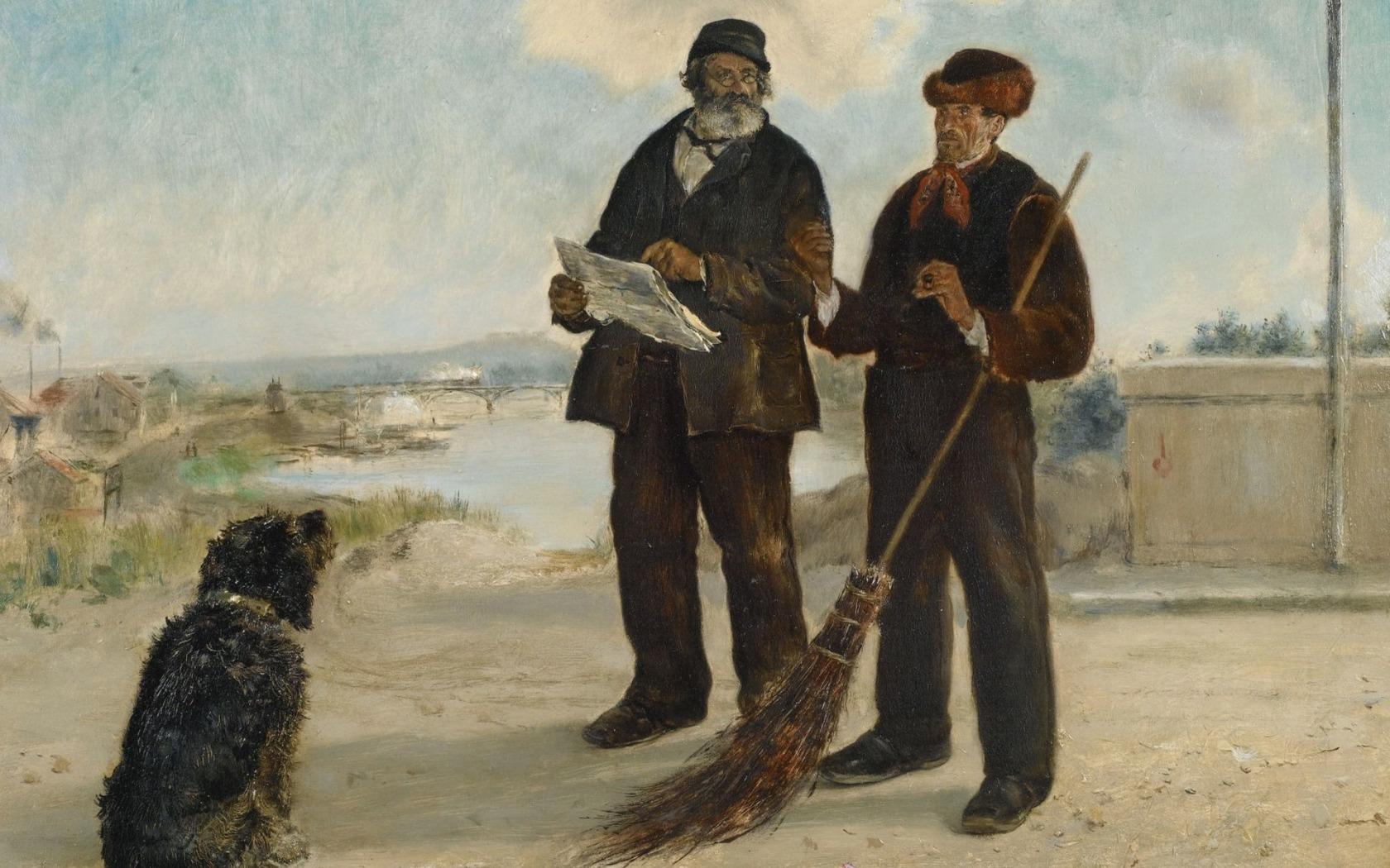 Жан Франсуа Рафаэлли - Аньерская газета, 1879