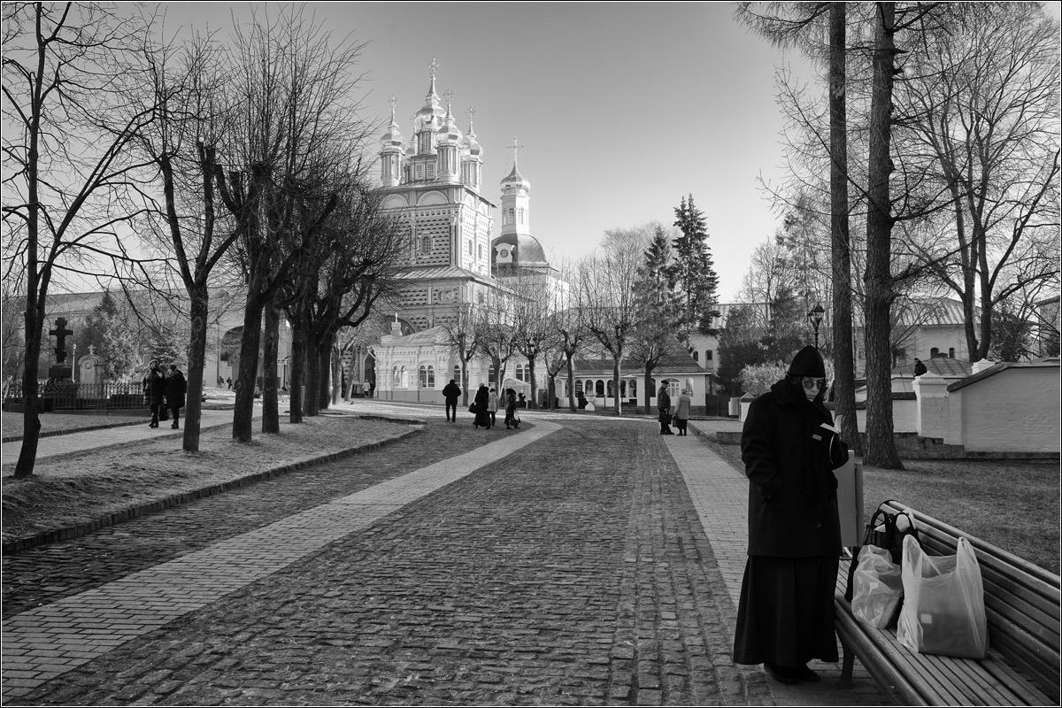 Сергей Добка - Морозное утро в Лавре