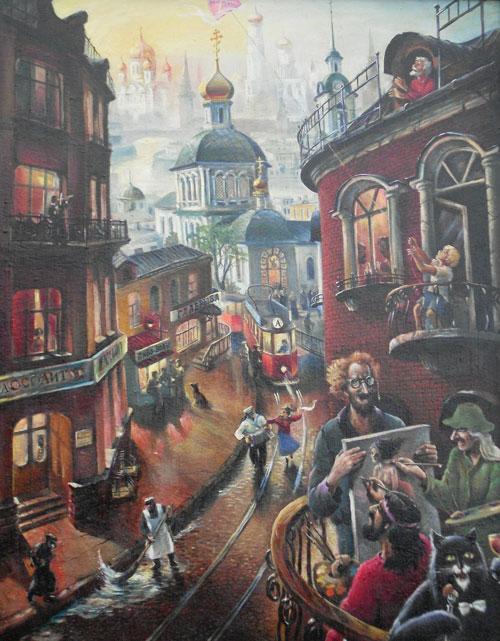 Анатолий Алексеев (р. 1944) - Булгаковская Москва