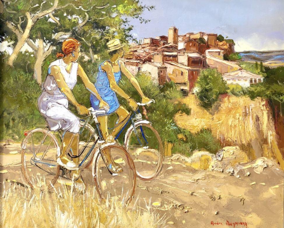 Андре Деймоназ (р. 1946) - Вид на деревню