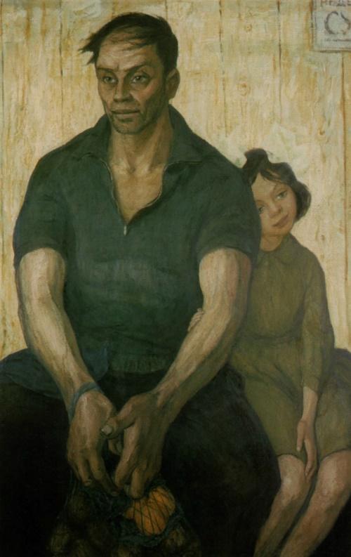 Борис Неменский - Отец и дочь, 1963