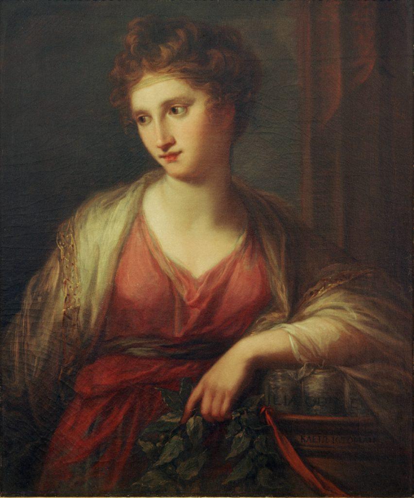 Ангелика Кауфман - Клио, муза истории, 1770