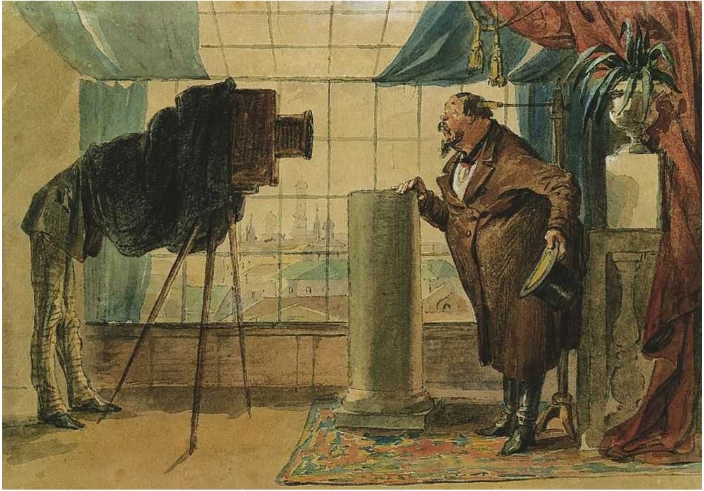 Петр Шмельков - Купец у фотографа, 1860-е гг