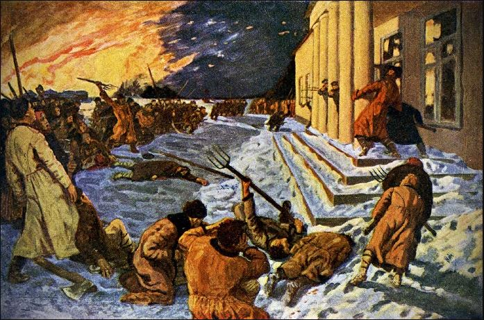 Гавриил Горелов - Разгром помещичьей усадьбы в 1905 году