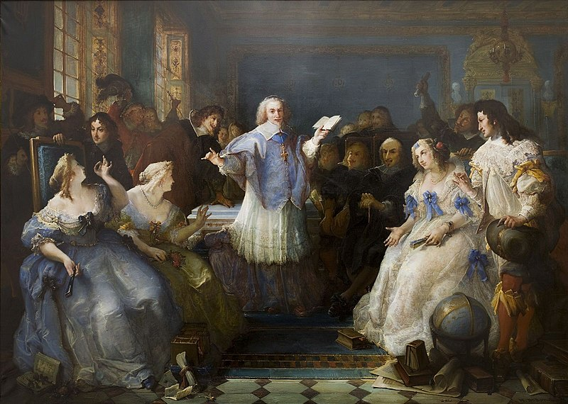 Франсуа Дебон - Салон де Рамбуйе, 1863