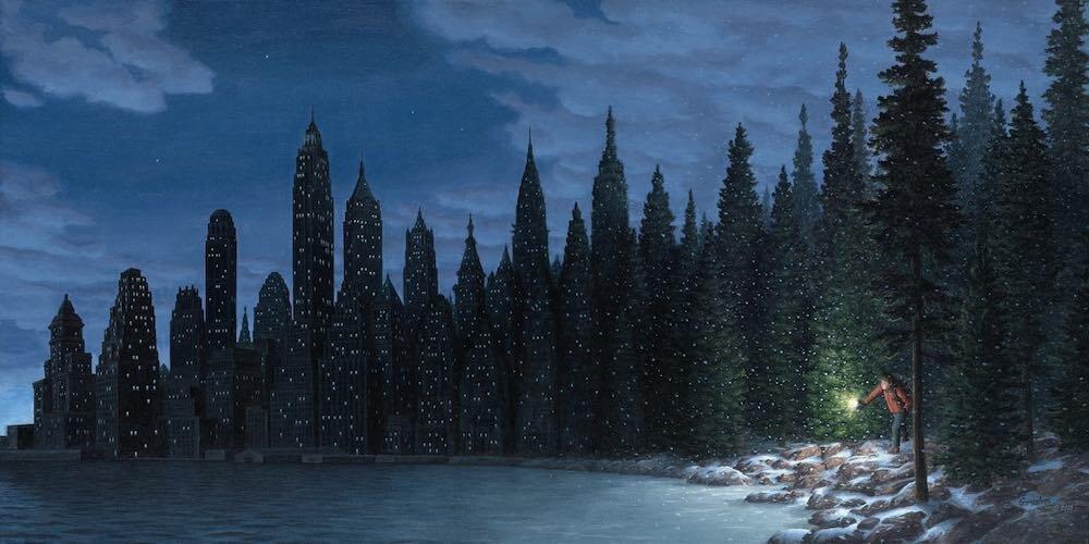 Роберт Гонсалвес - Световые снежинки (Light Flurries), 2010