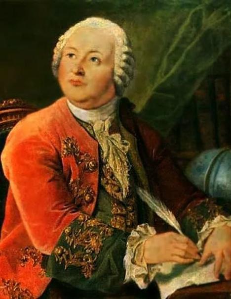 Леонид Семёнович Миропольский. «Портрет М.В. Ломоносова», 1787