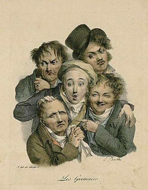 Луи-Леопольд Буальи - Гримасы, 1824