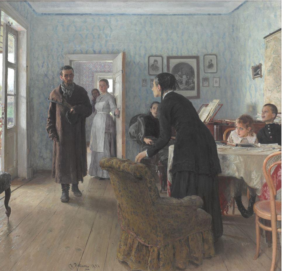 Илья Репин - Не ждали, 1884-1888
