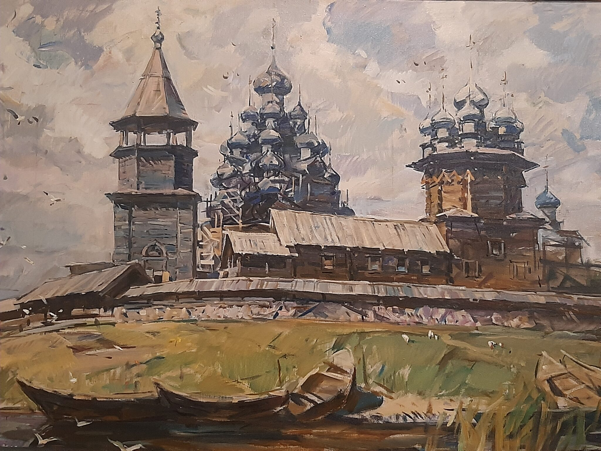 Юрий Пантюхин - Кижи, 1999