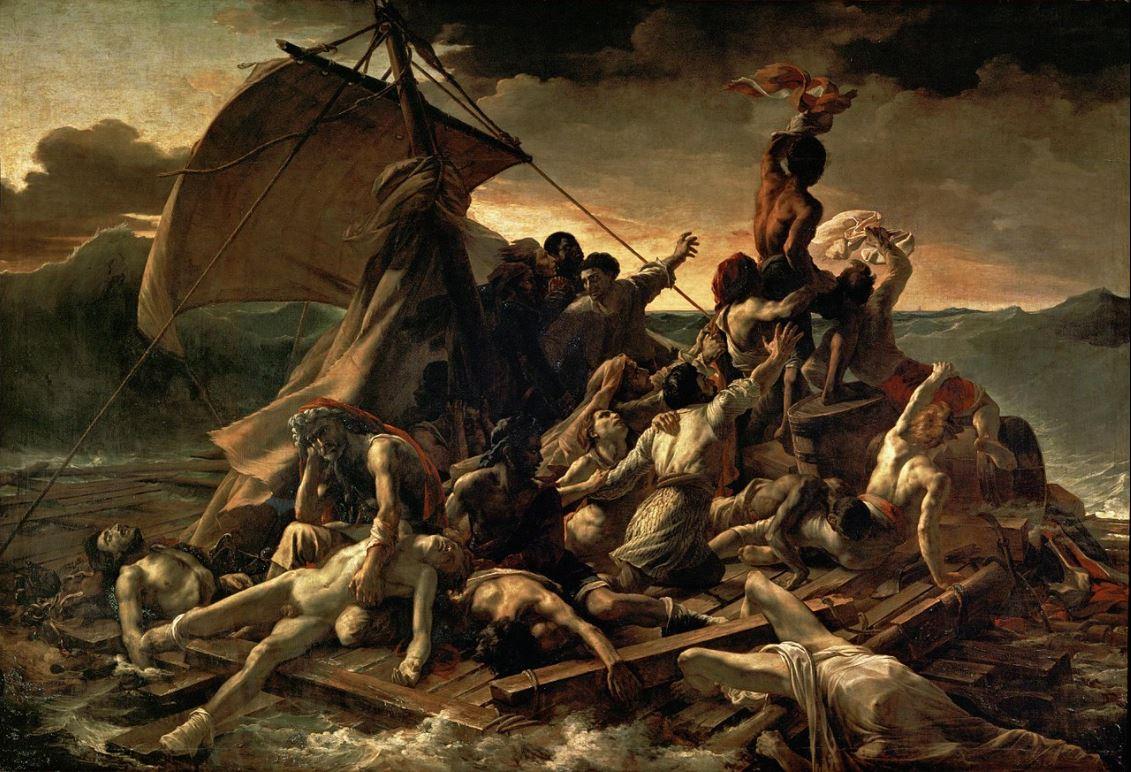 Теодор Жерико - Плот «Медузы». 1819