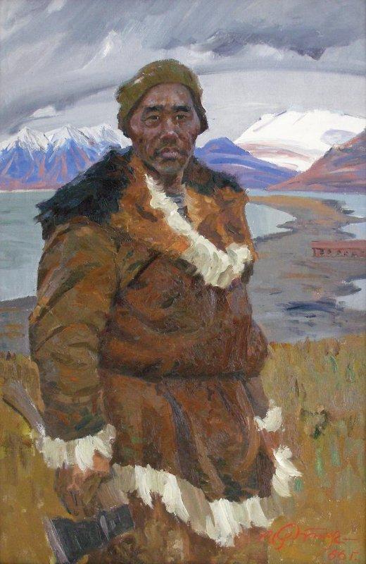 Иван Рыбачук - Строитель Чукотки, 1966