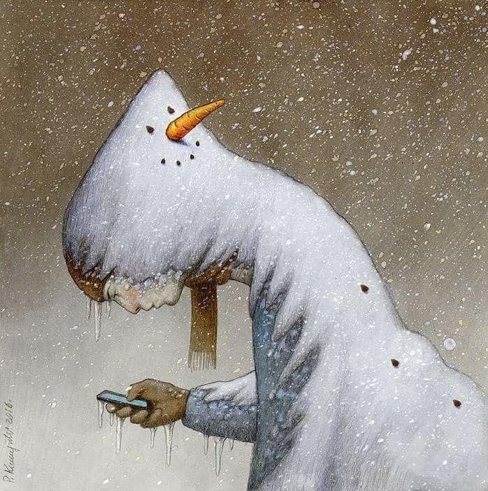 Павел Кучинский - Снеговик, 2016