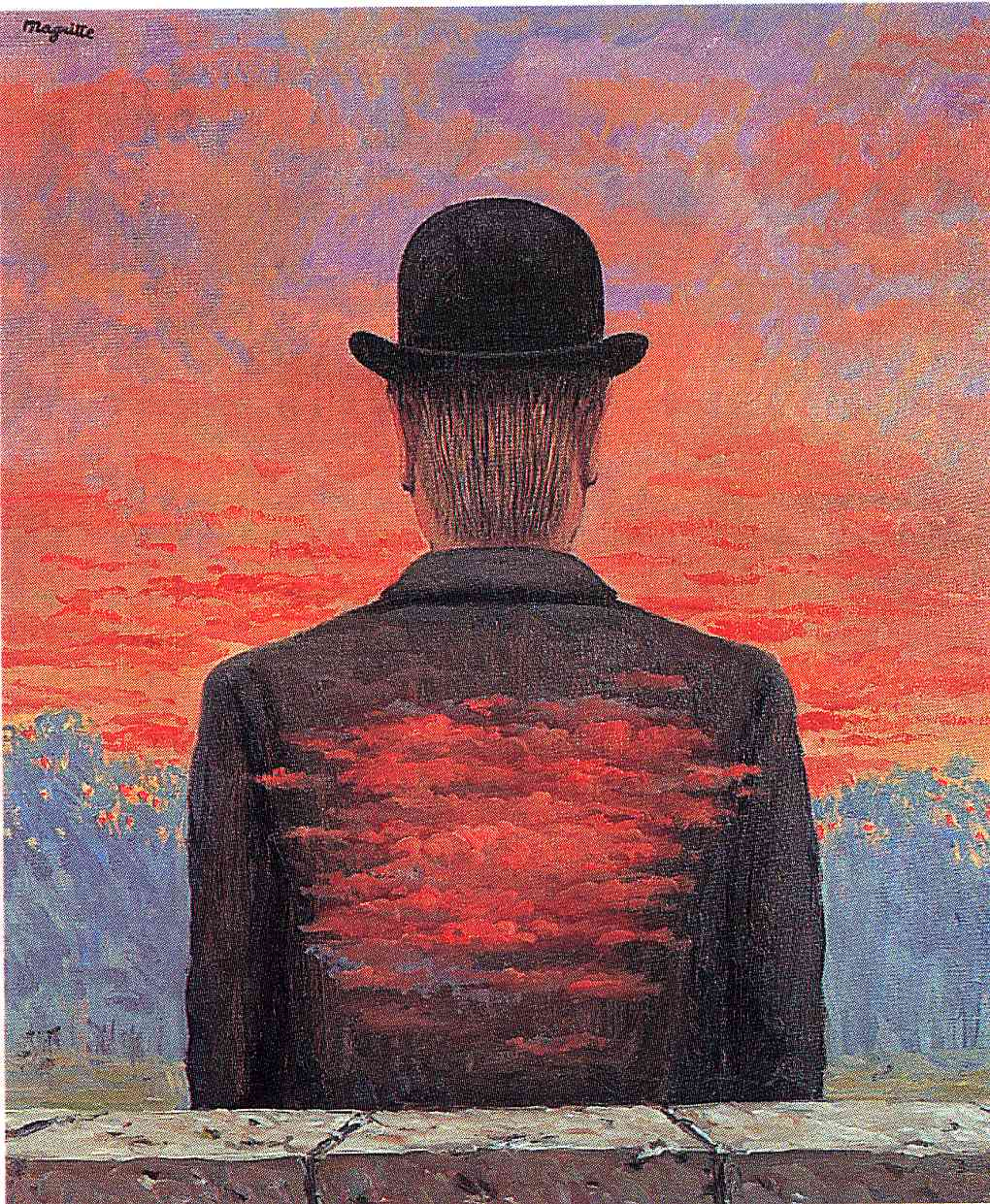Рене Магритт - Вознаграждение поэта, 1956