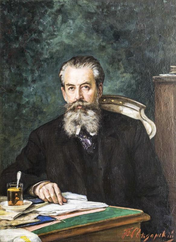 Павел Сведомский - Портрет академика Александра Николаевича Веселовского, 1903
