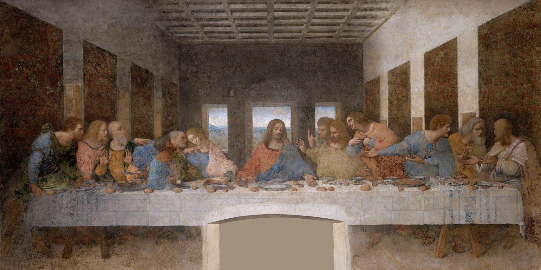 Леонардо да Винчи - Тайная вечеря