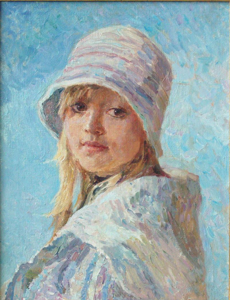 Мария Пономарева Девочка в шляпке