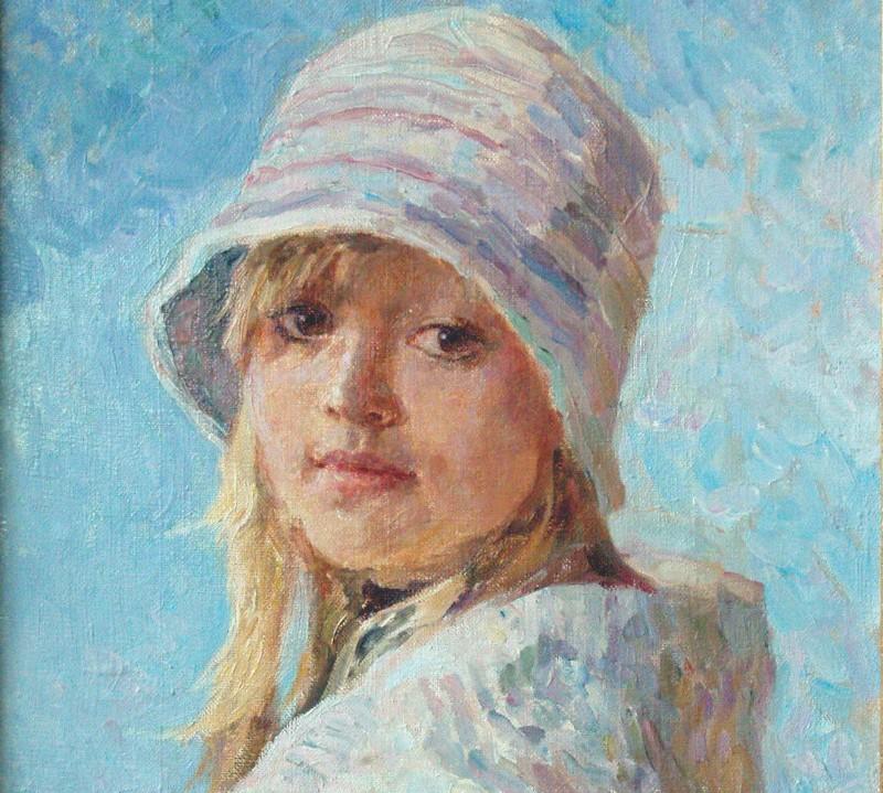 Мария Пономарева Девочка в шляпке.jpg