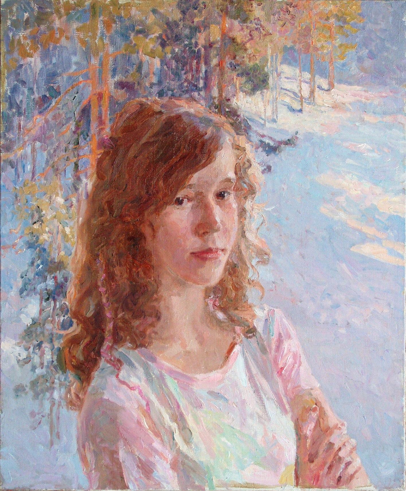 Мария Пономарева Вика, зима