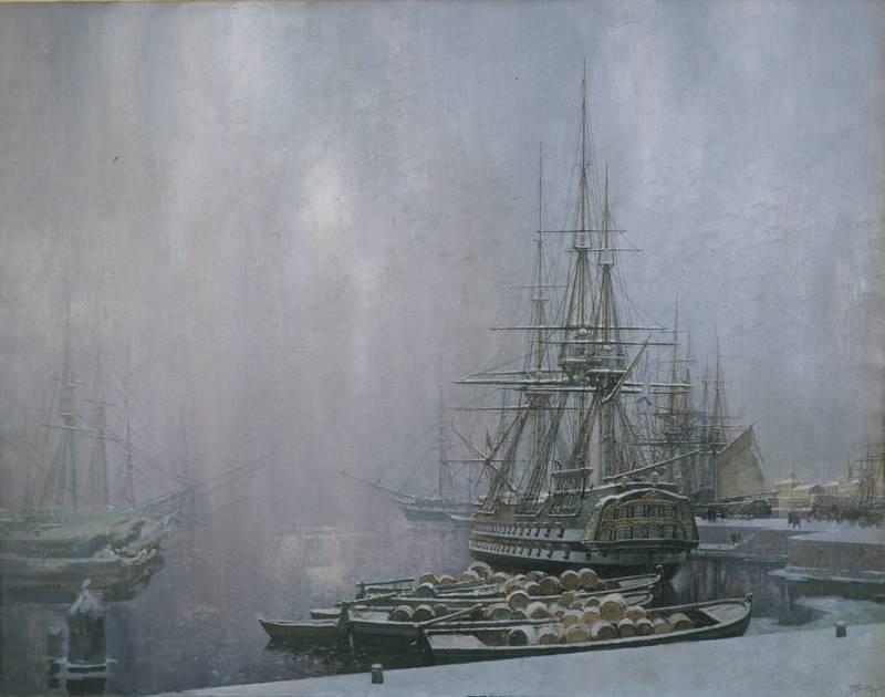 Сергей Пен - Кронштадт зимой, 1996