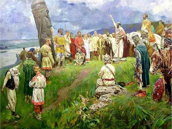 Станислав Бабюк Свержение Перуна