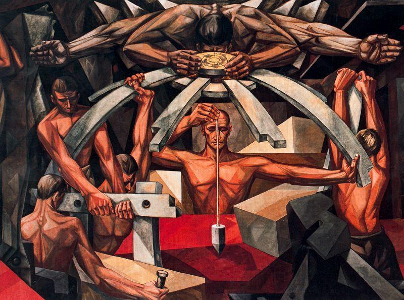 Вела Дзанетти. Борьба человечества за устойчивый мир
