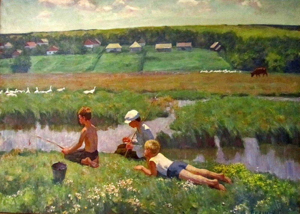 Георгий Бельцов - Воспоминание о детстве (на реке Чичиклея), 1980-е