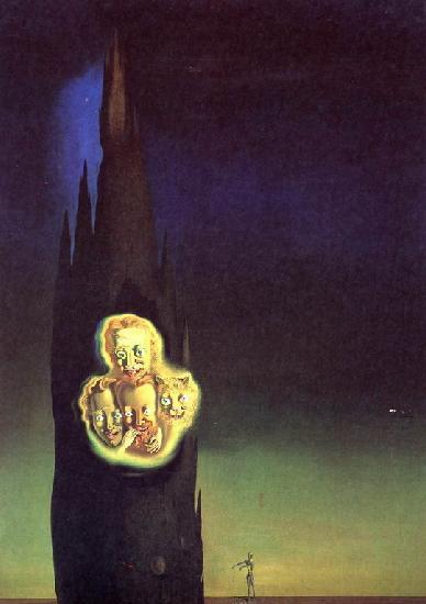 Картина Сальвадора Дали Свечение Лапорта