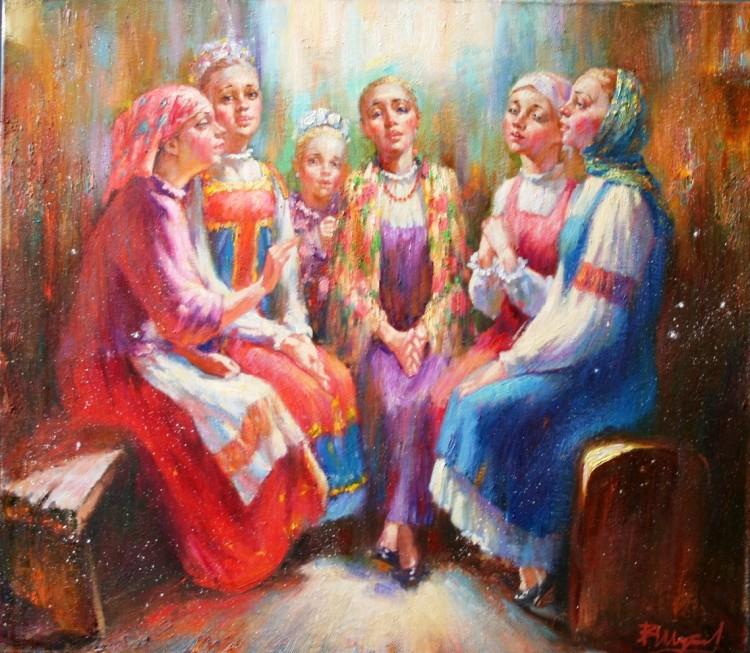 Василий Шутков Девушки поют