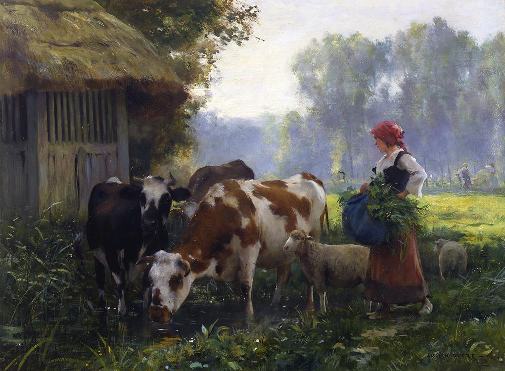 Жюльен Дюпре Возвращение на ферму