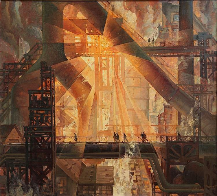 Седухин Е.В. Симфония шестой домны. 1979