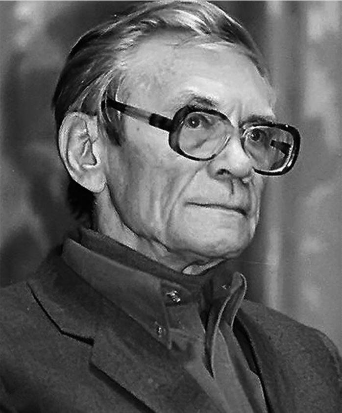 Вадим Кожинов. Фотография Е. Васильевой, 1997