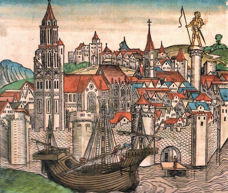 Париж, 15-й век