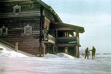 Дом Елизарова. Карелия .ХIХ век