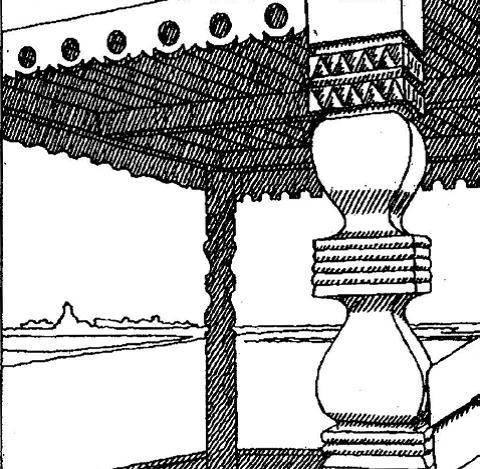 Крыльцо - увертюра композиции жилого пространства.