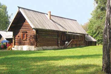 Дом из деревни Выхино 30-40 годы ХIХ века