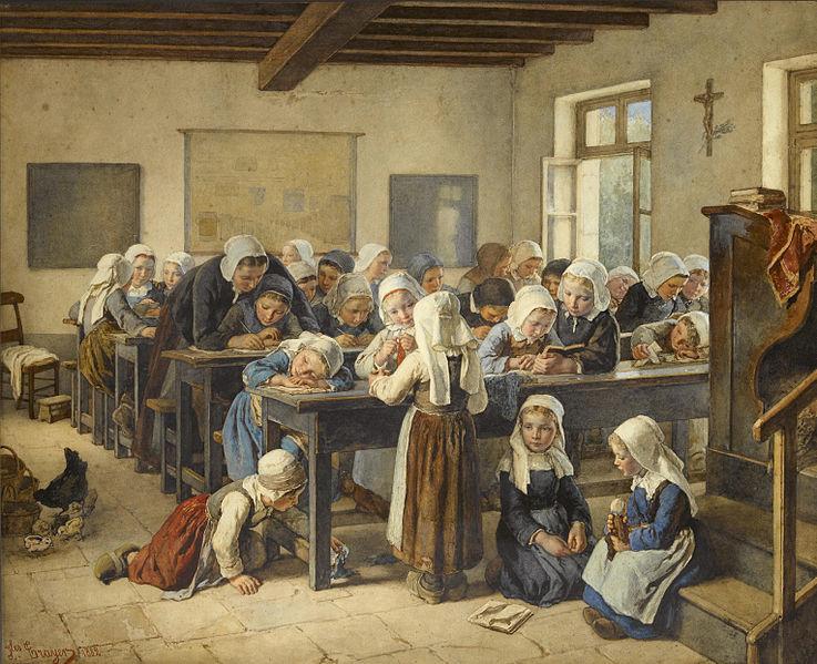 Жюль Трайер Бретонская начальная школа, 1882