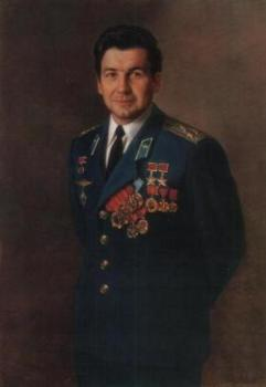 Александр Шилов портрет летчика-космонавта П.И.Климука