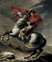 Давид Переход Бонапарта через перевал Сен-Бернар